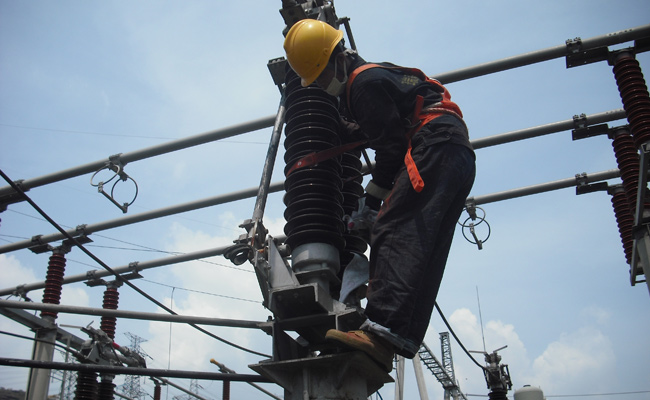 220kV Substation Spray RTV PRTV HVIC Coating